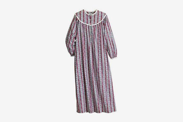 Lanz of Salzburg Tyrolean Heart Flannel Gown