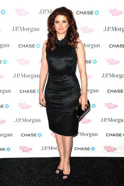 Actress Debra Messing attends the BAM 150th Anniversary gala
