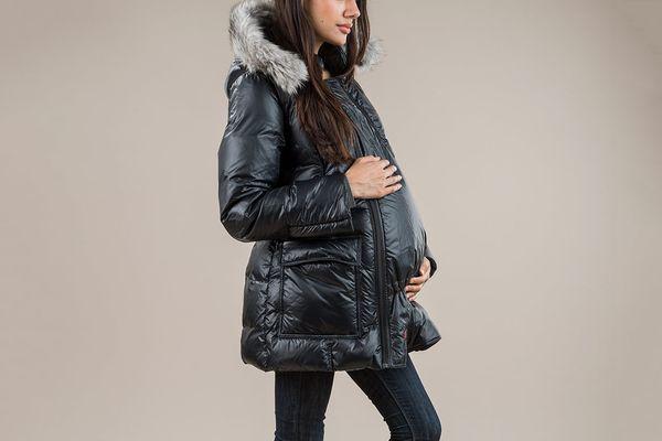 The M Coat Maternity and Babywearing Jacket