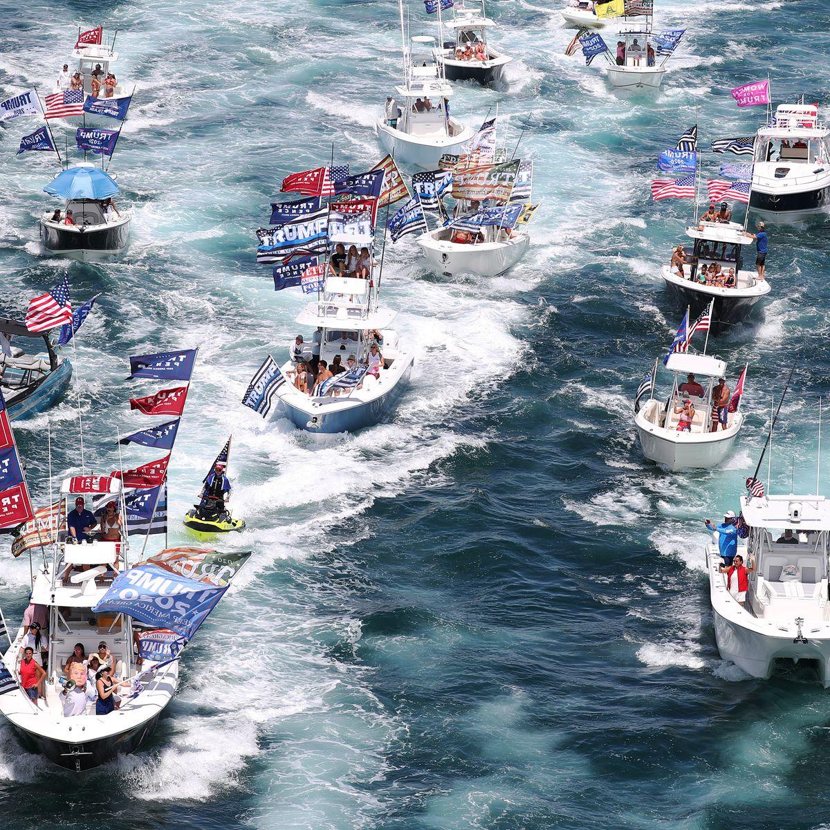 Boats Keep Sinking And Capsizing At The Trump Boat Parades