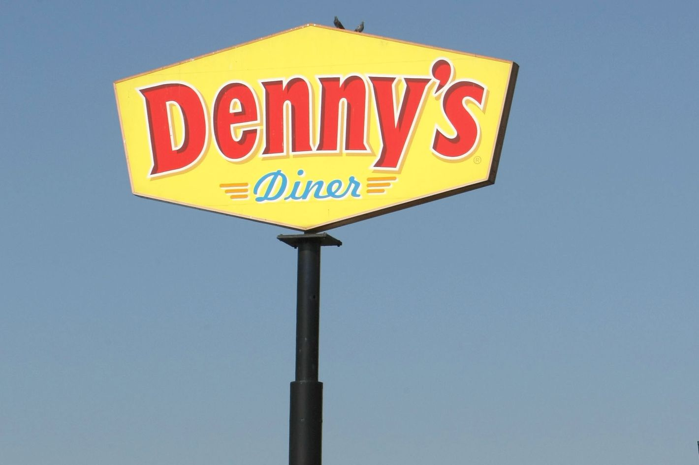It won't even look like this, swears Denny's.