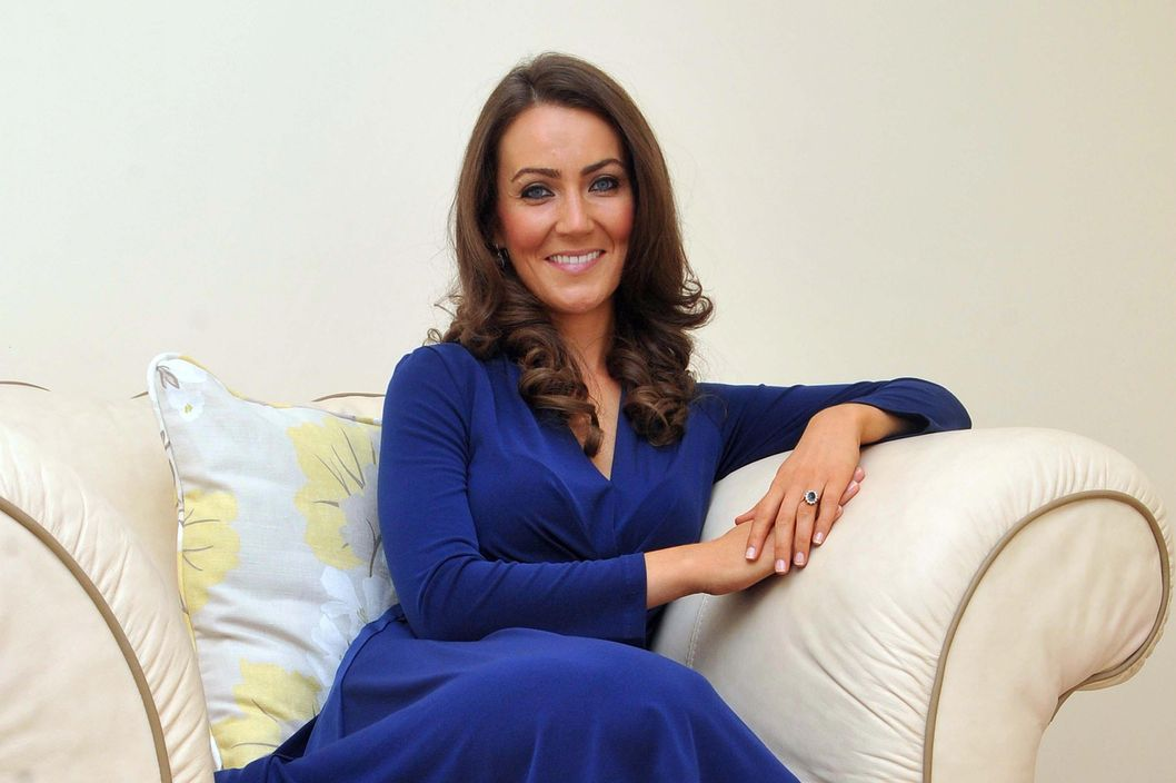 Pictured Heidi Agan, 32, who has given up her full-time job to be a Kate Middleton lookalike.