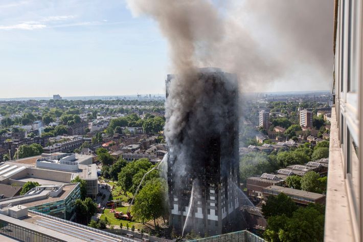 Unprecedented Fire Destroys London Apartment Building
