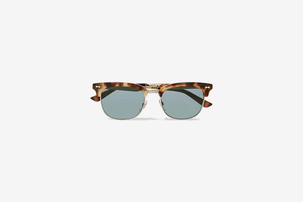 Gucci D-Frame Tortoiseshell Sunglasses
