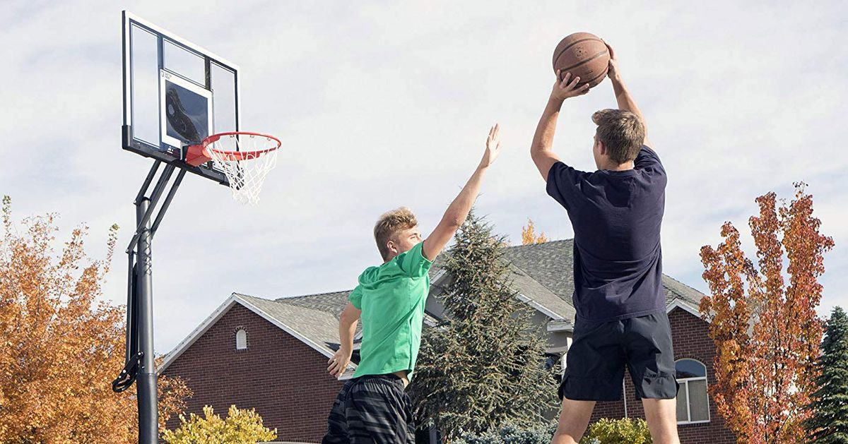 The Best Basketball Hoops on Amazon, According to Hyperenthusiastic Reviewers