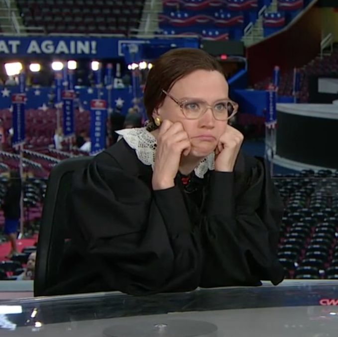 Kate McKinnon at the RNC.