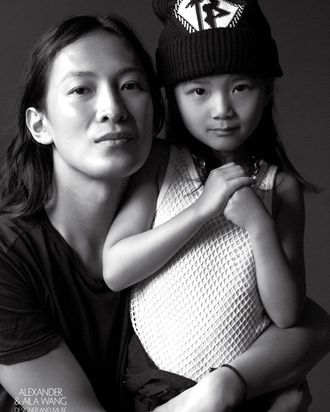 Alexander and Aila Wang in <i>CR Fashion Book</i>'s latest issue.