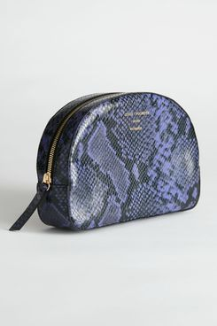 Half Moon Snake Vanity Bag