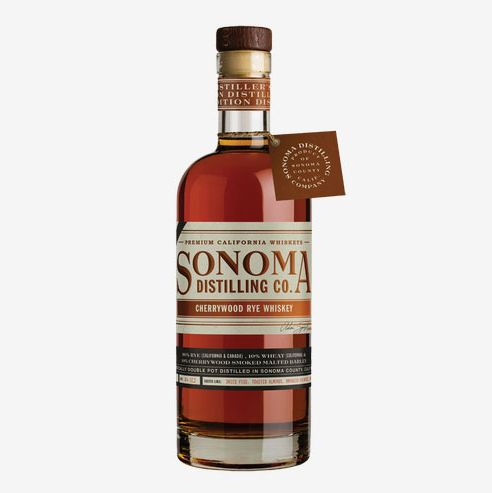 Sonoma Distilling Co. Cherrywood Rye Whiskey