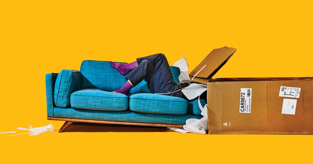 9 Best Flat Pack Sofas Campaign Article Burrow Rove 2018