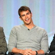 "Actor Theo James of ""Golden Boy"" speaks onstage during the CBS portion of the 2013 Winter TCA Tour at Langham Hotel on January 12, 2013 in Pasadena, California."
