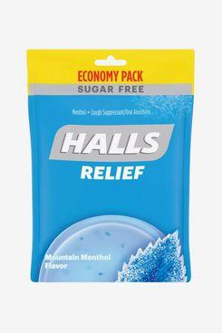 Halls Sugar Free Cough Drops, Mountain Menthol, 70 Count