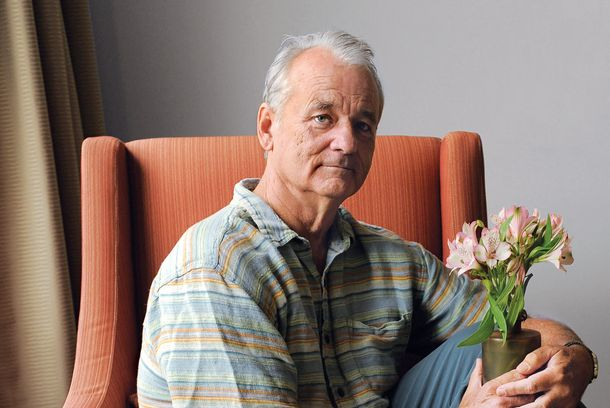 "This Sept. 9, 2012 photo shows Bill Murray, a cast member in the film ""Hyde Park on Hudson,""  poses for a portrait at the 2012 Toronto Film Festival in Toronto. (Photo by Chris Pizzello/Invision/AP)"