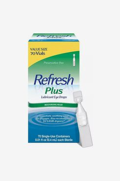 Refresh Plus Preservative-Free Lubricant Eye Drops for Dry Eyes