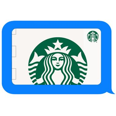 People Are About To Be Able Text Starbucks Gift Cards
