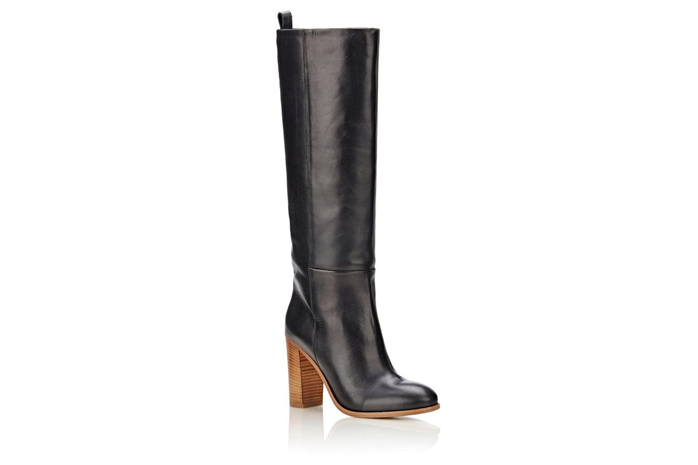 Barneys New York Leather Knee Boots