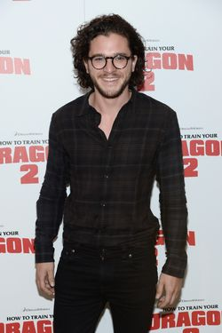 "NEW YORK, NY - JUNE 11:  Actor Kit Harington attends the DreamWorks Animation & 20th Century Fox screening of ""How To Train Your Dragon 2"" at Crosby Street Hotel on June 11, 2014 in New York City.  (Photo by Dimitrios Kambouris/Getty Images)"