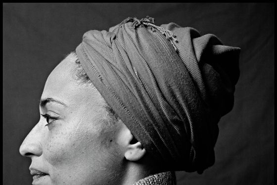 NEW YORK: English novelist Zadie Smith poses for a portrait session in December 2008, New York, NY. (Photo by Steve Pyke/Contour by Getty Images)