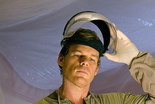 Michael C. Hall as Dexter Morgan in Dexter (Season 8, episode 1) - Photo: Randy Tepper/Showtime - Photo ID: Dexter_801_0867