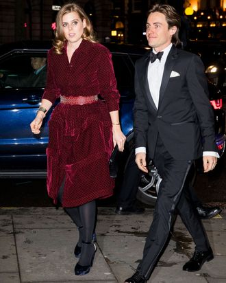 Princess Beatrice and Edoardo Mapelli Mozzi.