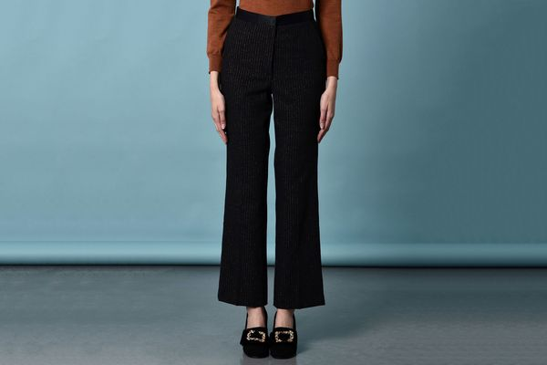 8 Casual Pinstripe Pants