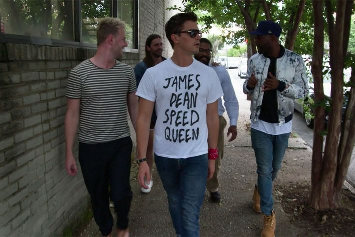 2f8ac787 Every Graphic Shirt Antoni Wears on Queer Eye, Ranked