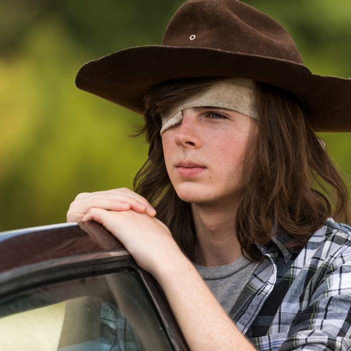 Chandler Riggs as Carl.