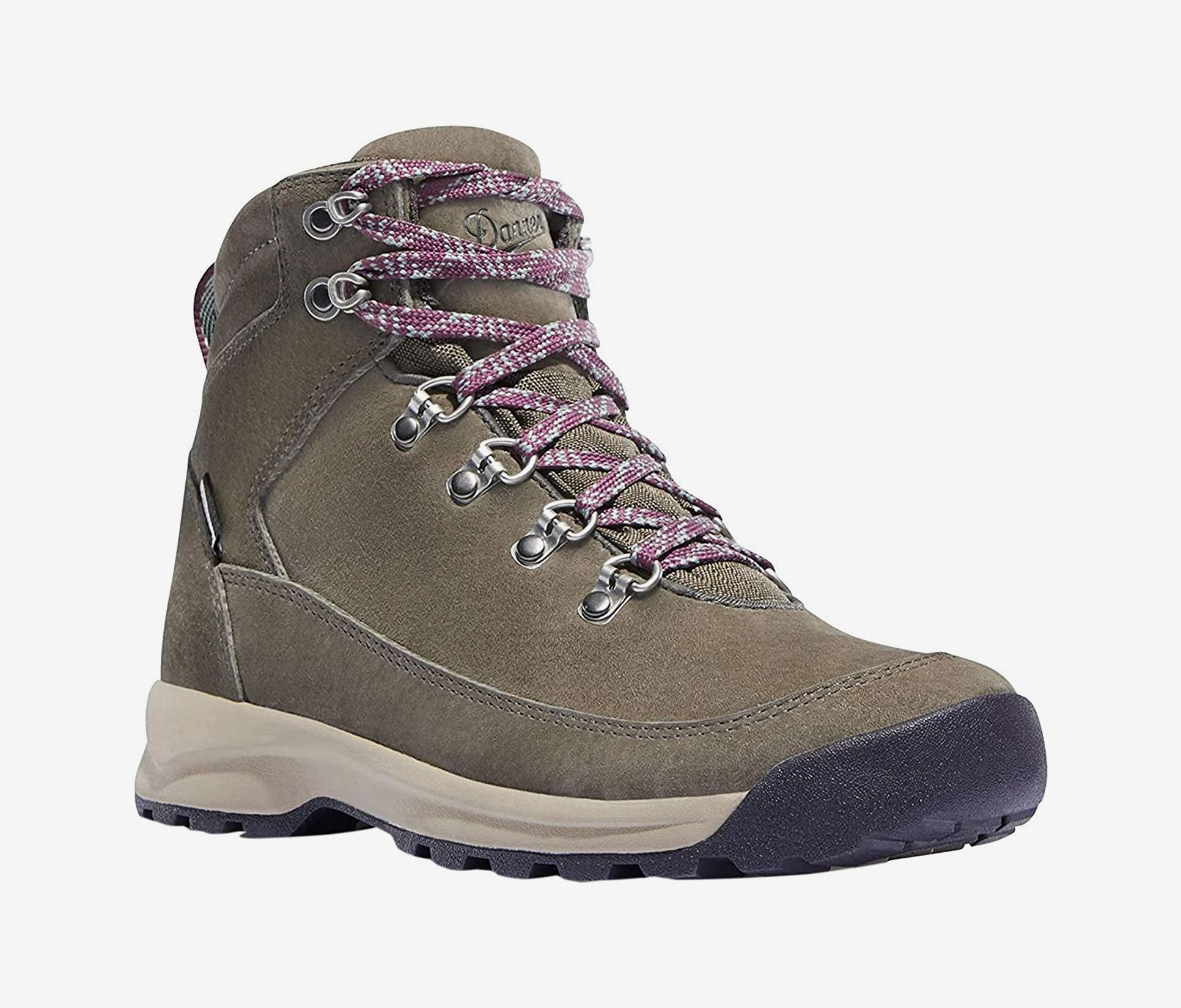 GRITION Womens Hiking Boots Waterproof Winter Walking Shoes Ankle Booties Lightweight Outdoor High Top Fashion Backpacking Lace Up Casual Warm Boot