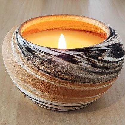 Laguna Candles Multi Color Ceramic Candle