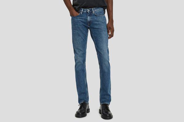 Acne Studios Max Mid Blue Denim Jean