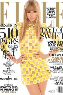 Taylor Swift for Elle.