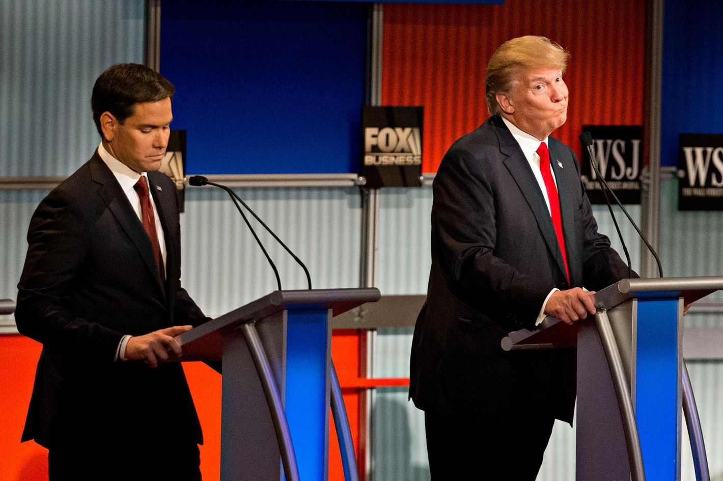 Fox Business And The Wall Street Journal Host Republican Primary Debate