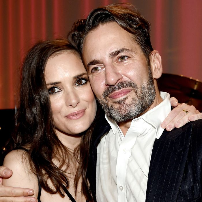 Winona Ryder and Marc Jacobs.