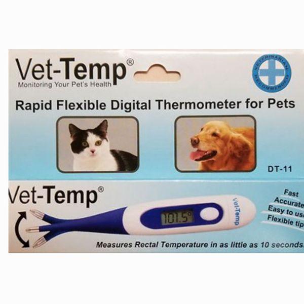 Vet-Temp Rapid Flexible Digital Pet Thermometer