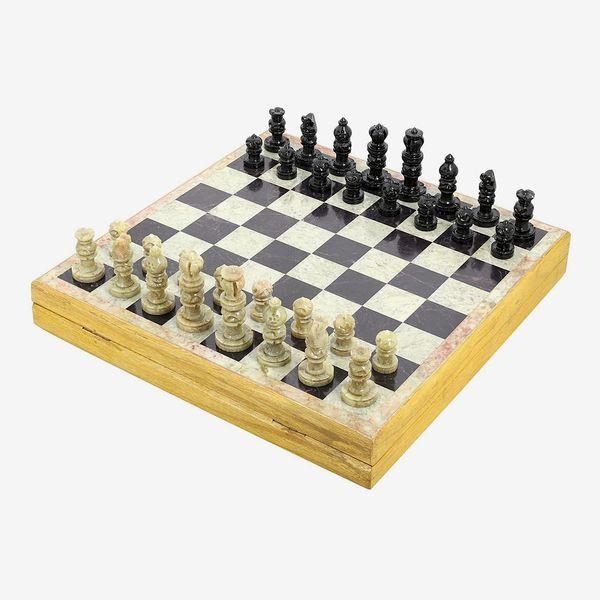 Ajuny Stone Chess Set