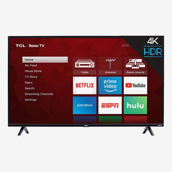 TCL 65-Inch Class HDR 4K UHD Smart LED TV