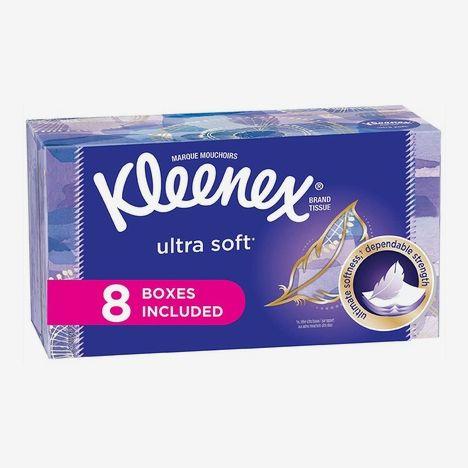 Kleenex Ultra Soft Facial Tissues