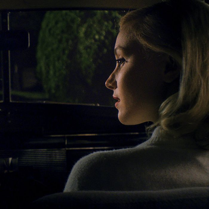 Logan Lerman and Sarah Gadon in the new film <i>Indignation</i>.