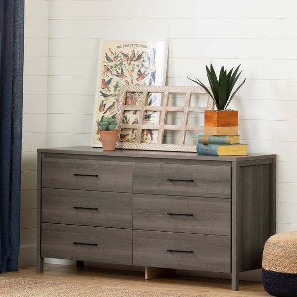 South Shore Gravity 6-Drawer Double Dresser