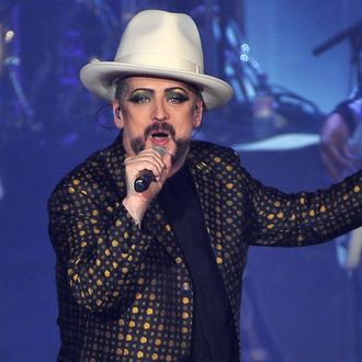 Culture Club Perform At Wembley Arena - London
