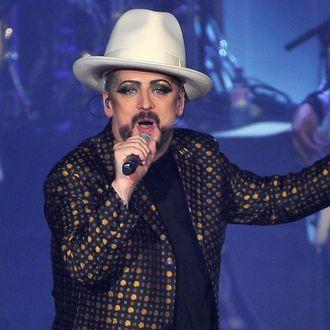 Culture Club Perform At Wembley Arena - London