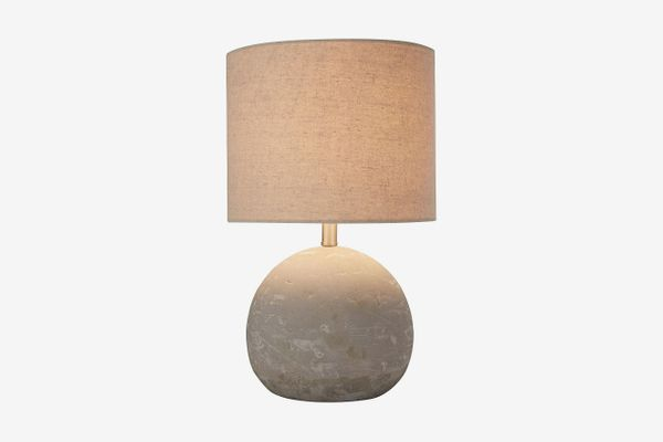 Stone & Beam Industrial Concrete Table Lamp