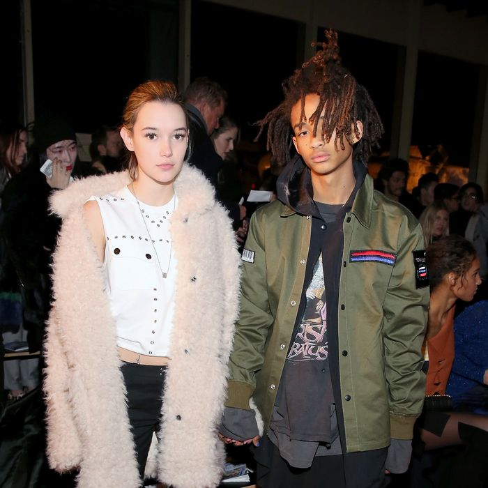 Sarah Snyder and Jaden Smith.