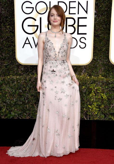 """Photo 15 from Most In Need of a """"City of Stars"""" Pun: Emma Stone in Valentino"""