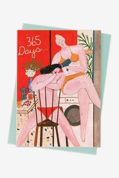 '365 Days' Valentine's Day Card
