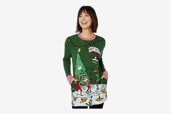 Whoopi Hot Nuts Sweater