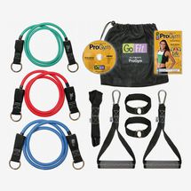 GoFit Pro Gym-in-a-Bag Round Resistance Bands