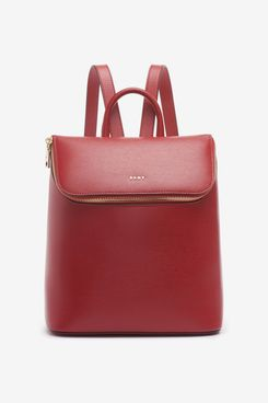 DKNY Bryant Leather Backpack