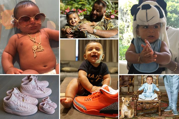 We The Best Baby Photo Courtesy Of Instagram Asahdkhaled DJ Khaleds Young Son