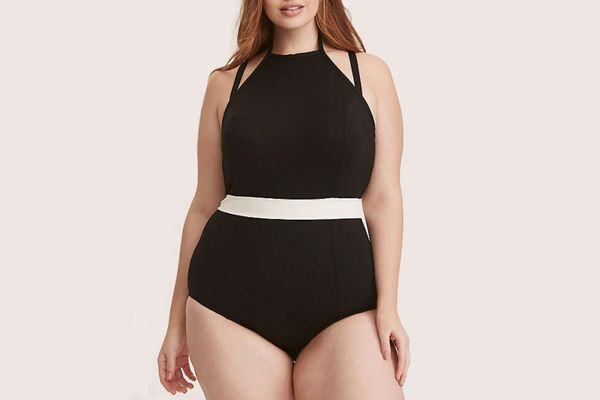 High Neck Multi-Strap One-Piece Swimsuit